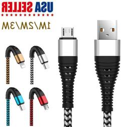1~3M Fast Charging Heavy Duty Charger Cable Cord for iPhone