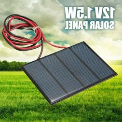 Mini 1.5W 12V Solar Panel Power Module for Cell Phone Charge