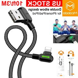 6 ft MCDODO Lightning Cable Heavy Duty iPhone 11 8 7 plus Ch