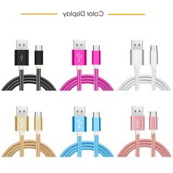 10 ft Micro Android USB Cable For Samsung LG Data sync Fast