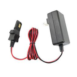 12 Volt Battery Charger Cord For Power Wheels Gray / Orange