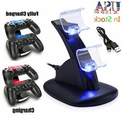 Dual Controller Charger Dock Station USB Fast Charging Stand