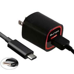 18W FAST HOME CHARGER TURBO POWER 6FT LONG TYPE-C USB CABLE