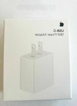 18W Fast Wall Charger USB-C Power Adapter Wall For iPhone 11
