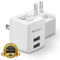1x Fast Dual USB Wall Charger Plug Adapter for Samsung Galax