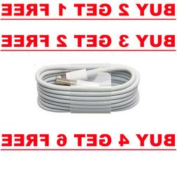 1X USB 3FT Charger Cable Data Cord for iPhone 6 6s 5 C new i