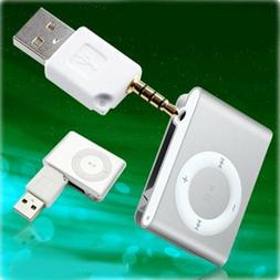 2 in 1 USB Data Sync Dock Charger for Apple iPod Shuffle 1st