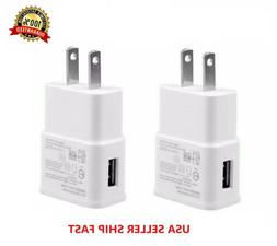 2-Pack 2AMP USB POWER ADAPTER WALL CHARGER For Universal SAM