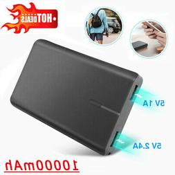 10000mAh Portable Power Bank USB Battery Charger for Cell Ph