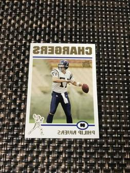 2004 TOPPS GOLD LETTER PHILIP RIVERS ROOKIE CHARGERS #17