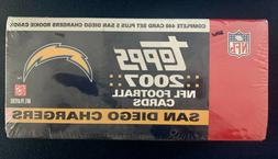 2007 Topps Football Complete 440-Card Factory Sealed Set + 5