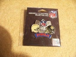 2009 NFL Playoffs Steelers vs Chargers Division AFC lapel  p
