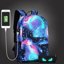 2018 Anti-theft Laptop Notebook Backpack USB Charging Port T