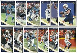 2018 Panini Donruss Football Los Angeles Chargers Team Set 1