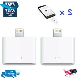 2X 30Pin to 8Pin Lightning Old iPhone  to New iPhone Charger