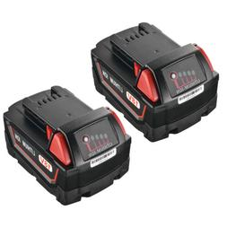2x 5.0Ah 18V lithium ion Battery Power Tool Accessories for