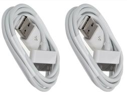 2x USB Charger Cable 6ft Sync Data Charging Cord Apple iPhon