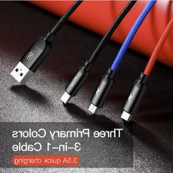 3 in 1 cable iphone micro usb