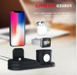 3 in 1 Charging Dock Charger Stand For Apple Watch Series/Ai