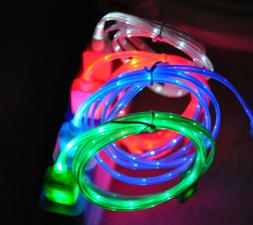3ft LED light-up usb charger cable power cord FOR apple ipho