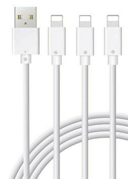 3Pack 6/10FT USB Cable For OEM Original Apple iPhone6 7 8 X