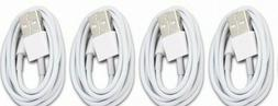 4 PACK - USB Cable For OEM Original Apple iPhone 6s 7 8 Plus