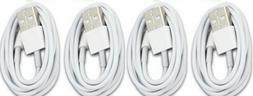 4 Pack USB Sync Data Charging Charger Cable Cord for iPhone