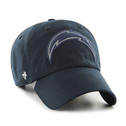 '47 NFL San Diego Chargers React Clean Up Hat, One Size, Nav