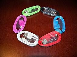 4x 8 Pin to USB Data Cable Charger Cord for Apple iPod Touch