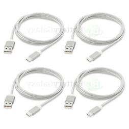 4X USB Type C Nylon Braided Charger Cable Cord for Motorola