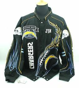 4XL NFL Team Apparel SAN DIEGO CHARGERS on FIRE Mens Cotton
