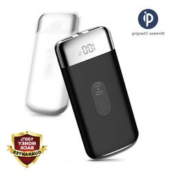 POWERNEWS 2000000mAh Power Bank Qi Wireless Charging Portabl