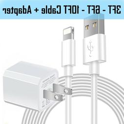 5W USB Power Wall Plug Charger Adapter With Lightning Cable
