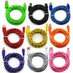 6' Ft Micro USB 2.0 cable For Android Cell Phone Charging Sy