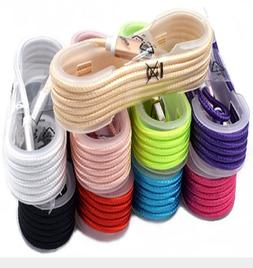 9-Color 4FT USB Braided Cord For iPhone 6S 7 8 Plus X Xs Max