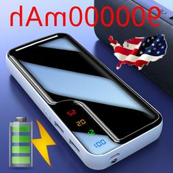 900000mAh Portable External Battery Charger Dual USB Power B