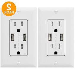 Categories TOPGREENER TU2153A Outlet With USB, 3.1A Outlet,
