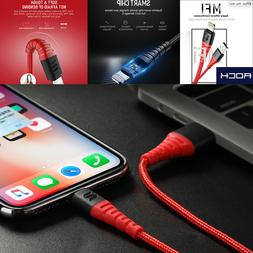 Hi-Tensile Apple MFi Certified Lightning Cable Charger for i