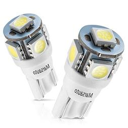 Marsauto 194 168 T10 2825 5SMD LED Bulbs Car Dome Map Licens