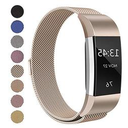 Swees For Fitbit Charge 2 Bands Metal Small & Large , Milane