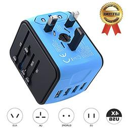 International Travel Adapter JMFONE Universal Power Adapter