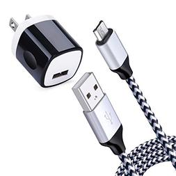 NINIBER Android Phone Cable Charging Block Compatible LG Sty
