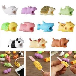 animal bites cable protector accessory for iphone