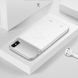For Apple iPhone X Battery Case Rechargeable Charger Portabl