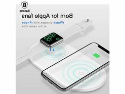 BASEUS Universal 2-in-1 7.5W Wireless Charger For IPHONE And