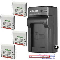 Kastar Battery AC Wall Charger for SOSUN 301S-Plus Camera Ca