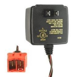 Power Wheels battery charger, 6 volt, Type A connector.