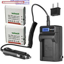 Kastar Battery LCD AC Charger for SOSUN 301S-Plus Camera Cam