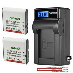 Kastar Battery LCD Wall Charger for SOSUN 301S-Plus Camera C