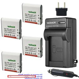 Kastar Battery Travel Charger for SOSUN 301S-Plus Camera Cam